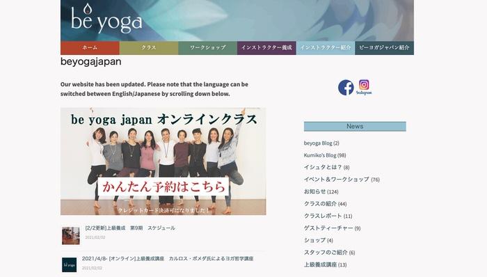 be yoga japan
