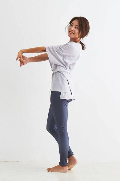 yoga wear p18 体型カバー!ぽっちゃりさん向けゆったりヨガウェア・パンツ【10選】写真つきで解説します
