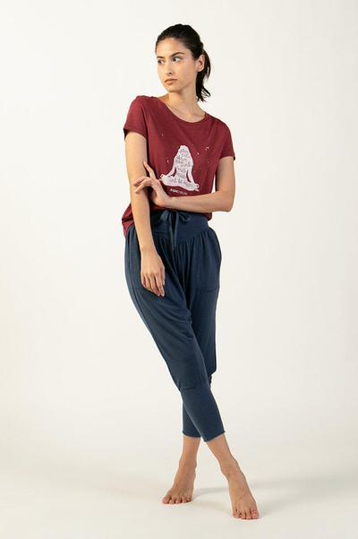 yoga wear p7 体型カバー!ぽっちゃりさん向けゆったりヨガウェア・パンツ【10選】写真つきで解説します